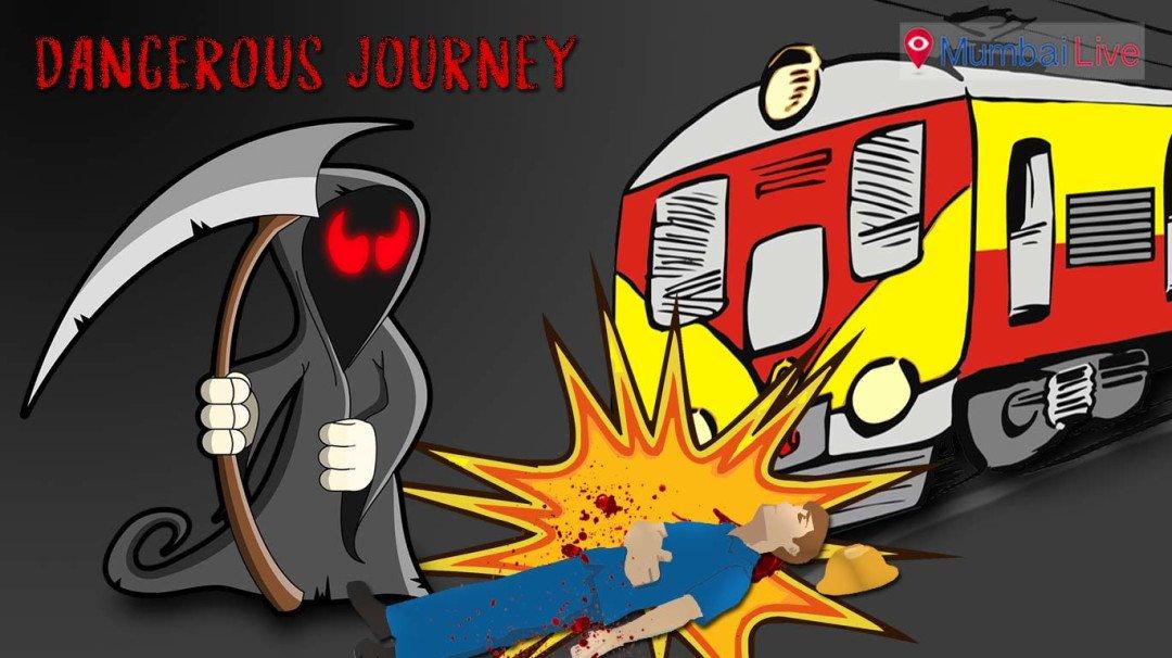 Risky Mumbai Railways- 12 lose life in a day