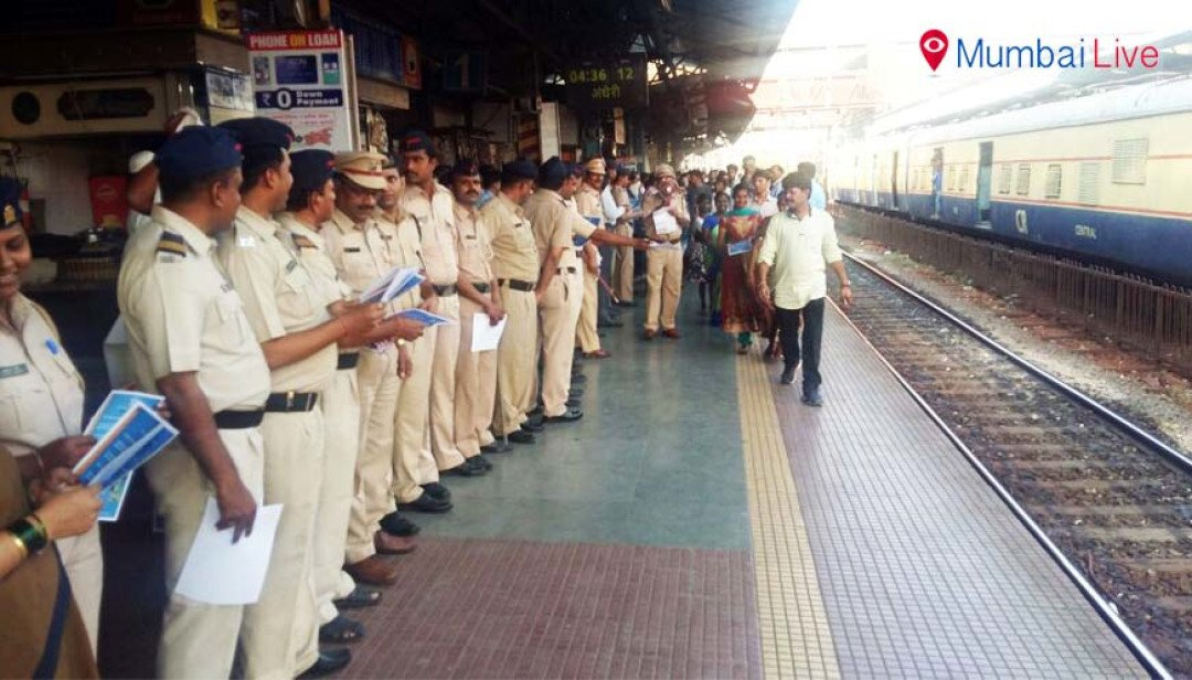 Human chain to raise rail safety awareness