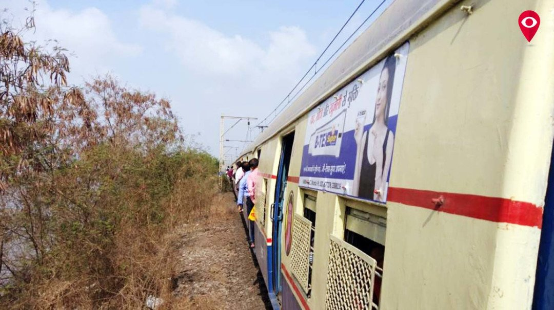 Local trains on harbour line affected following cracks