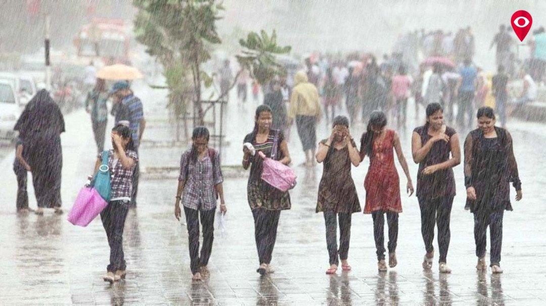 Mumbai witnesses heavy rainfall