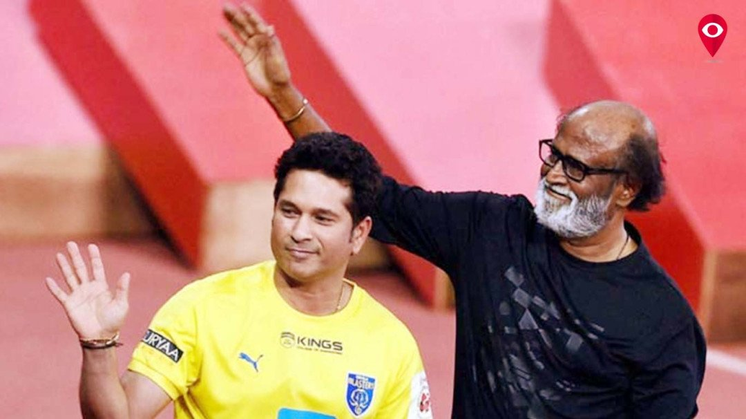 Superstar Rajinikanth's sends best wishes to Sachin Tendulkar
