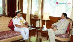 Coast Guard's Western Commander calls on Governor