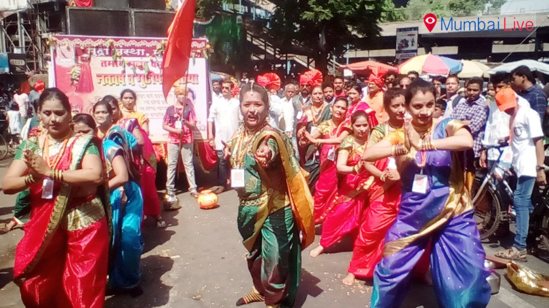 Shiv Sena celebrates Gudi Padwa at Mulund