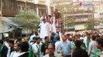 एमआयएम की रैली से लगा ट्रैफिक जाम