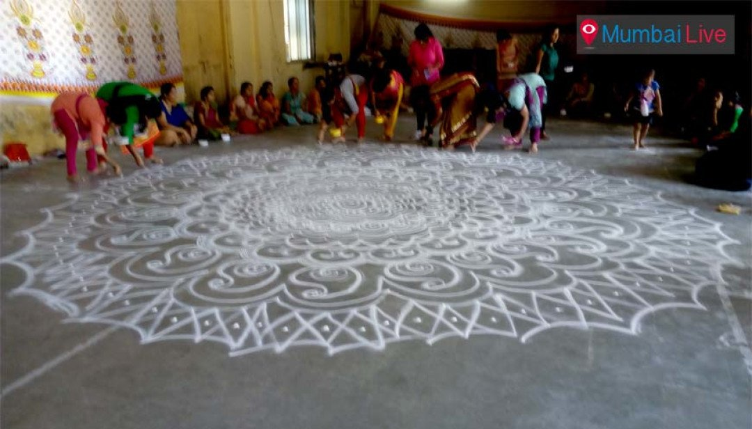 Make rangoli this Diwali