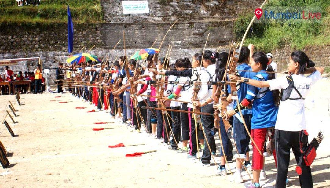 चेंबूर में तिरंदाजी स्पर्धा का आयोजन