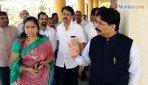 रवींद्र वायकरांनी दिली इस्माइल युसुफ महाविद्यालयाला भेट
