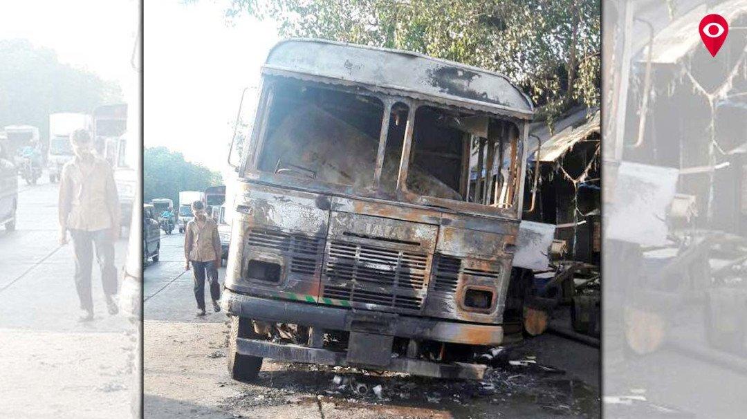 ट्रक के ईधन की टंकी में धमाका, एक की मौत