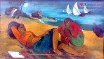 चित्रकार रायबांच्या कलाकृतीचं नेहरू सेंटरमध्ये प्रदर्शन