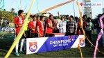 फुटबॉल नॅशनल चॅम्पियनशिपमध्ये मुली अव्वल