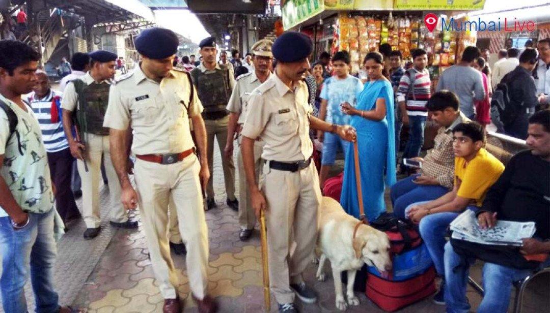 Borivali station under cop watch
