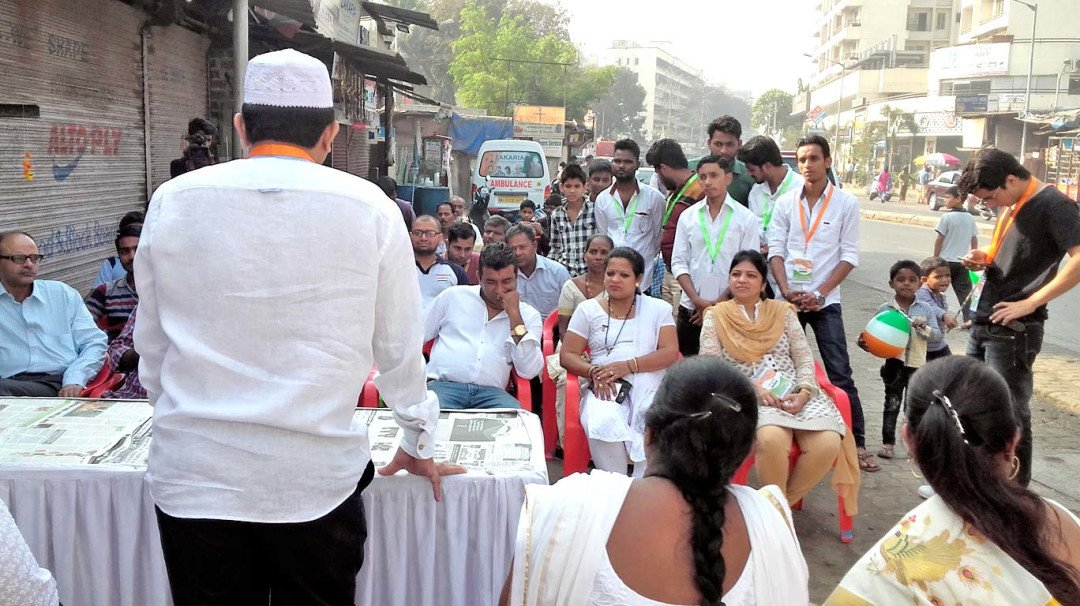 Zakaria trust celebrates R-day with poor people