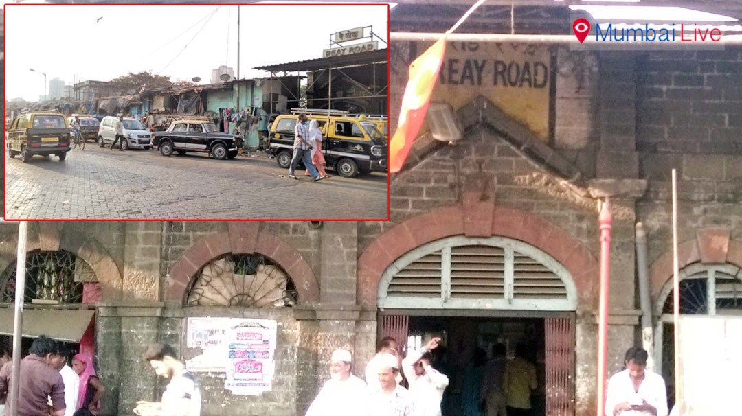 Reay Road station in grip of encroachment