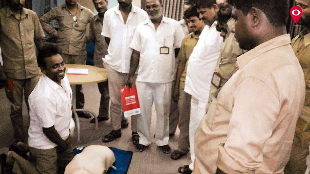 First Aid training for Auto rickshaw drivers