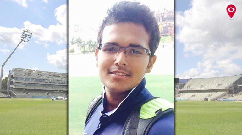 Rudra Dhande scores 200 runs off 67 balls in intercollegiate cricket tournament