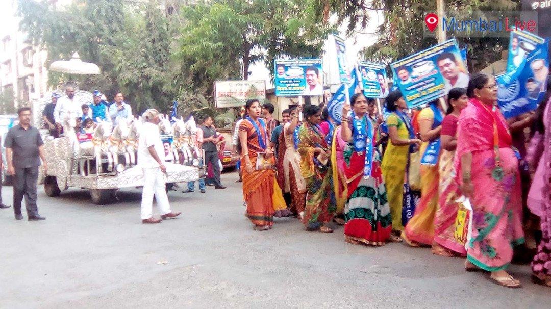 RPI road show in Pratiksha Nagar
