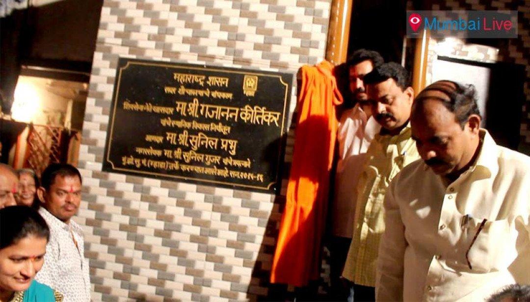 Shiv sena on development spree