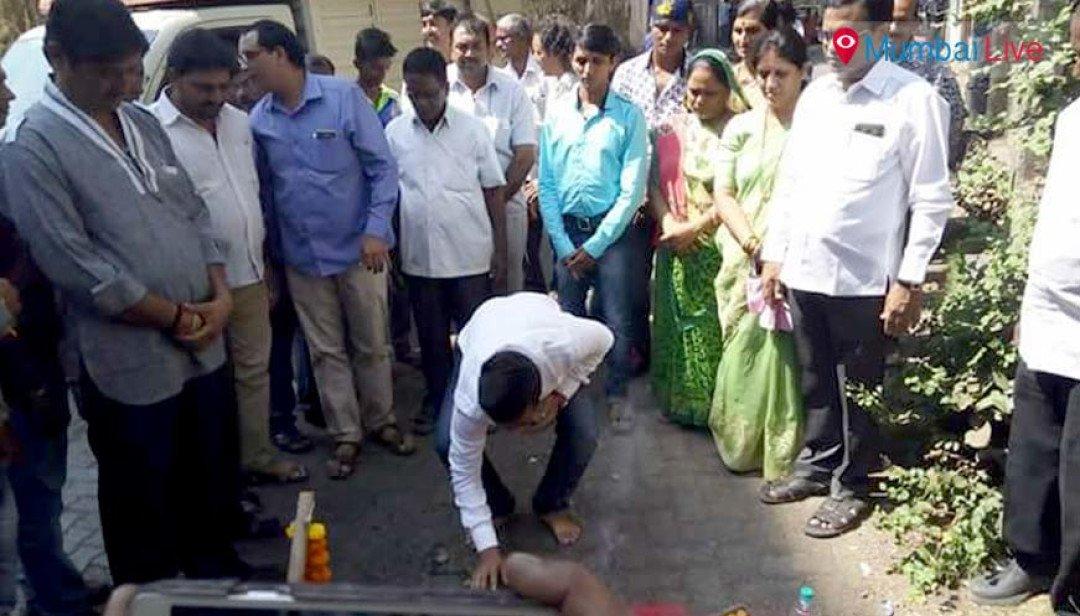 Social worker inaugurates road
