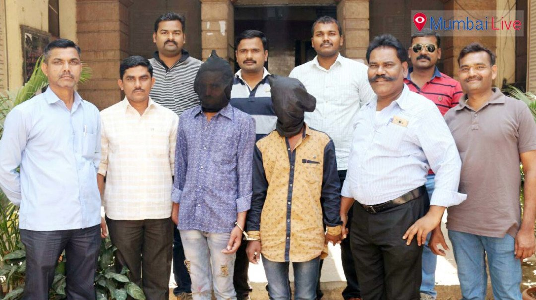 Wadala TT police catch hold burglars