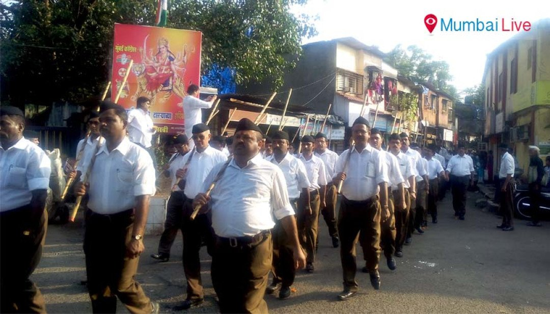 RSS procession in Chembur