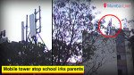Mobile tower atop school irks parents