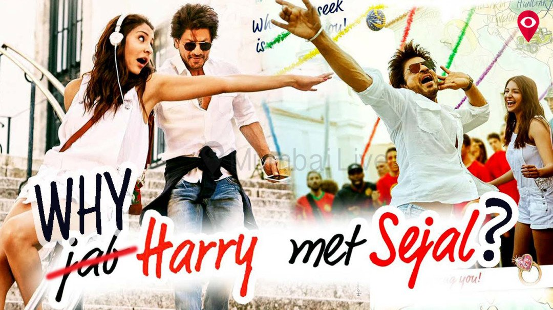 It should have been 'Why Harry' and not 'Jab Harry' met Sejal