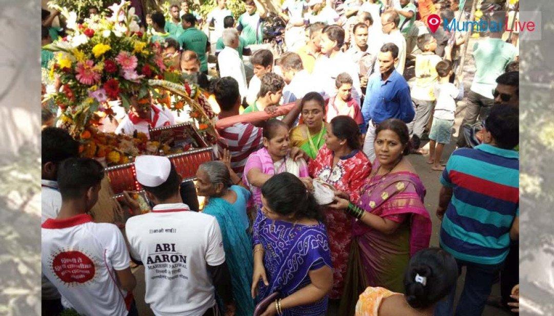 Sewree to Shirdi palkhi begins