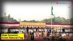State Governor hoists National Flag