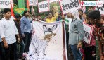 Yuva Sena protests against Sanjay Nirupam