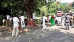 गोरेगावमध्ये स्वच्छता अभियान