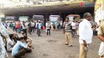 Counterparts protest over Bhiwandi bus driver's death