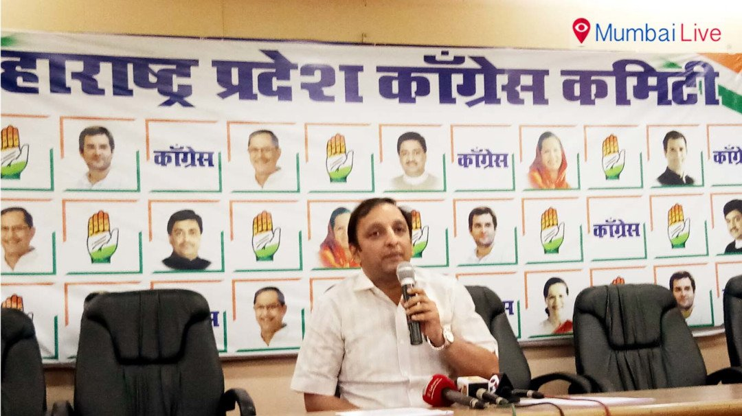 Sachin Sawant targets Sena, BJP