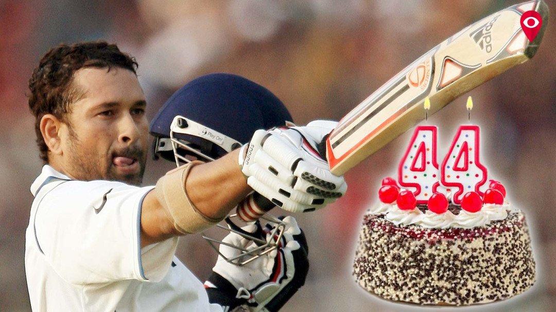 क्रिकेटचा देव झाला 44 वर्षांचा