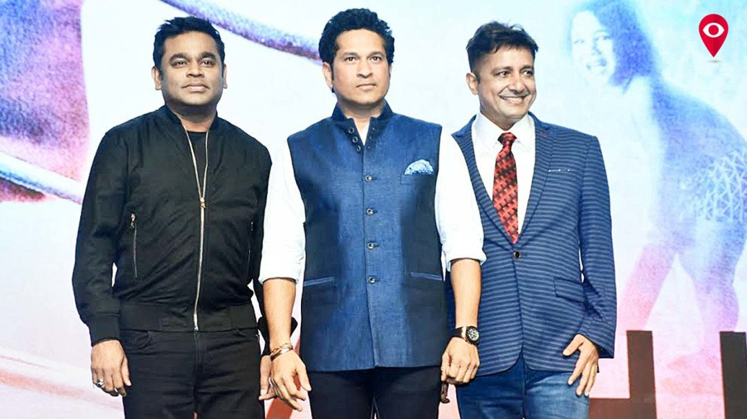 'The Sachin anthem' is a formidable combination of Rahman-Sukhwinder, says Sachin.