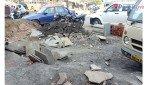 Repair work of road starts