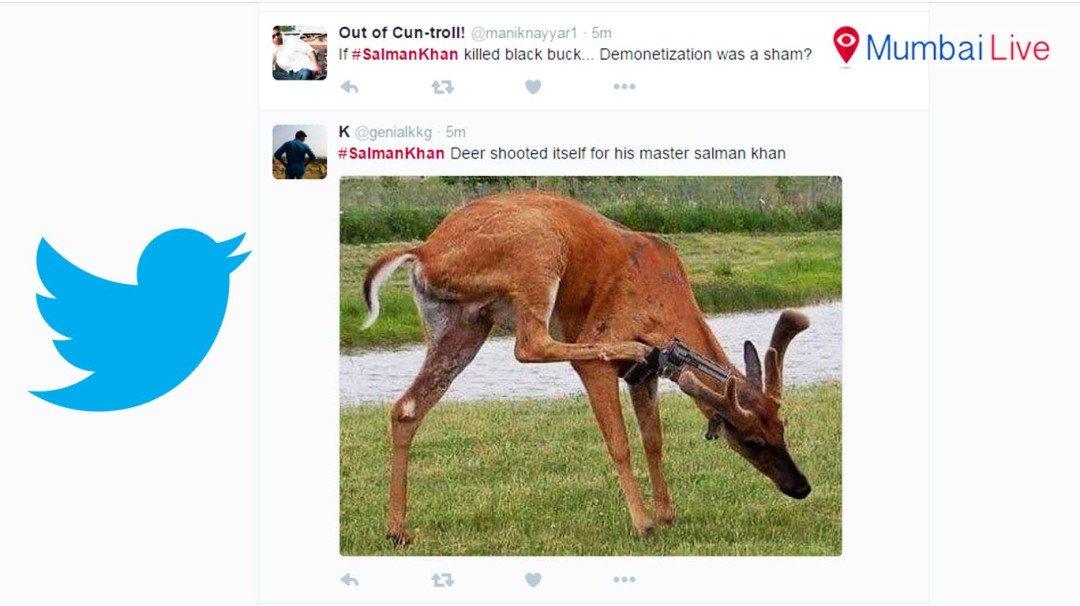 ट्विटर पर सलमान का धमाल