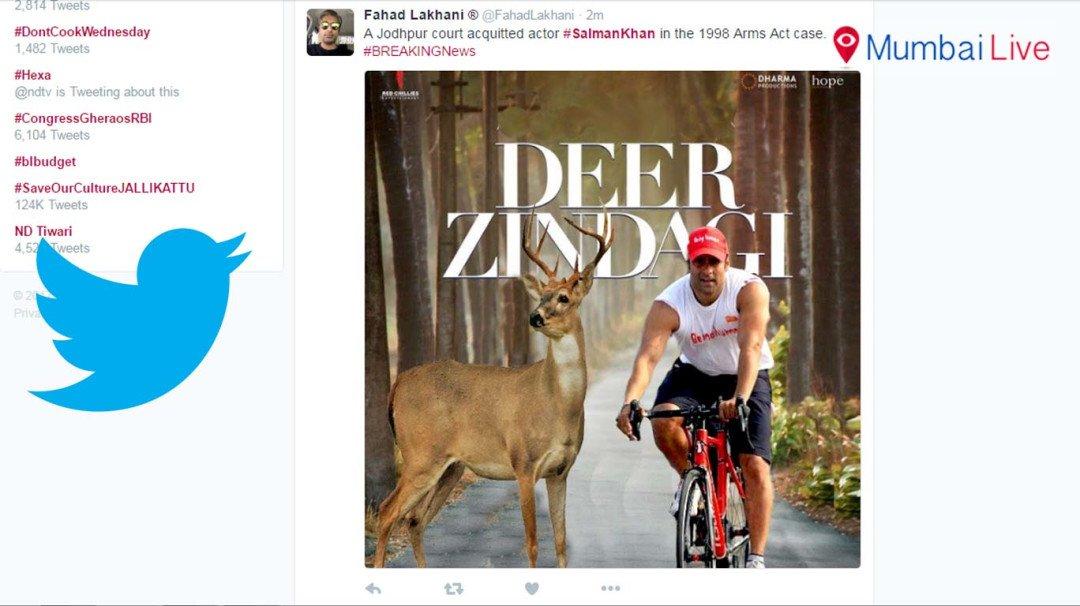 Twitterati on Salman Khan's acquittal
