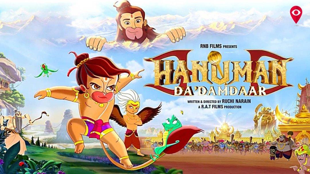 Now get ready to hear Salman and Raveena in 'Hanuman Da Dumdaar'