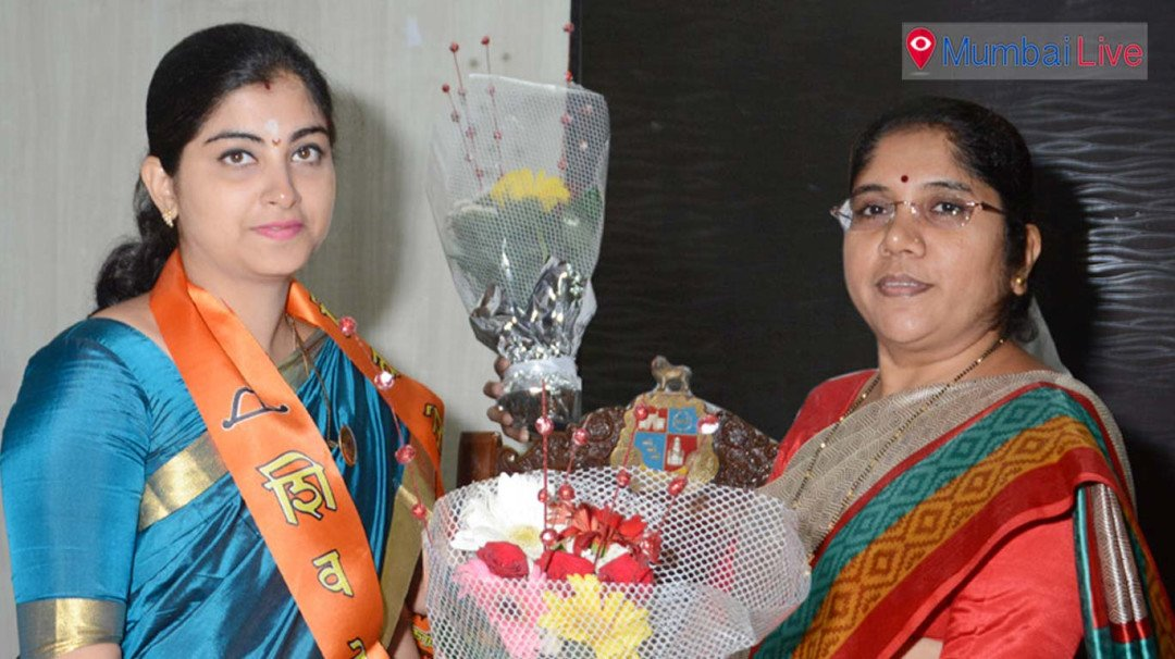 Samruddhi Ganesh elected as Ward Committee Chairperson