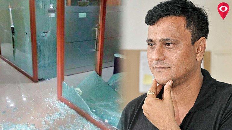 कांग्रेस कार्यालय में तोड़फोड़ : मनसे नेता संदीप देशपांडे सहित 7 गिरफ्तार