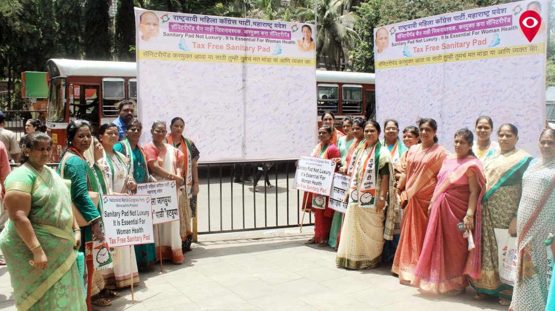 Exempt sanitary napkins from GST, demands NCP