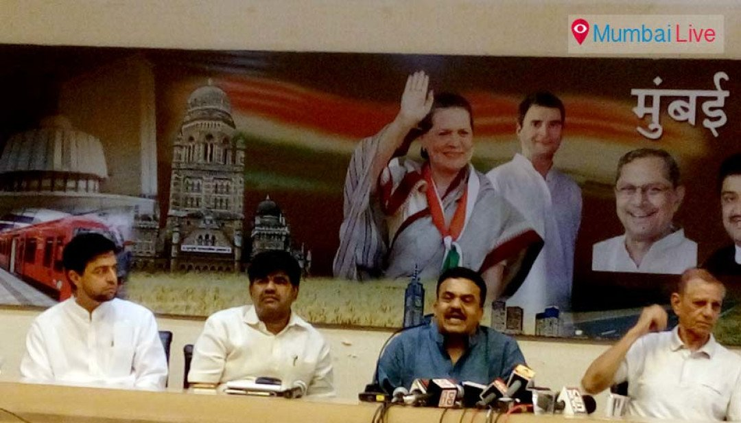 CM should resign- Sanjay Nirupam