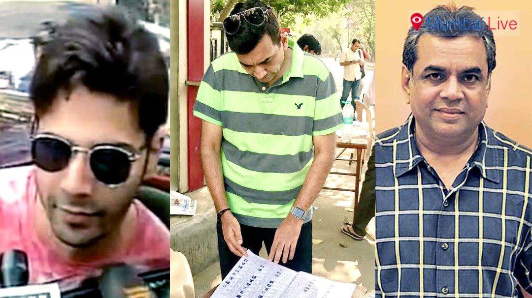 Voters' list drops Paresh Rawal, Varun Dhawan, Sanjeev Kapoor