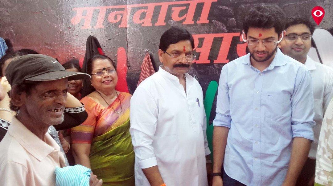 रवींद्र वायकर ने शुरू की गरीबों के लिए 'संवेदना'