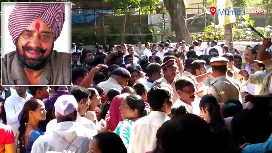 Shivsainiks gherao MLA Tara Singh