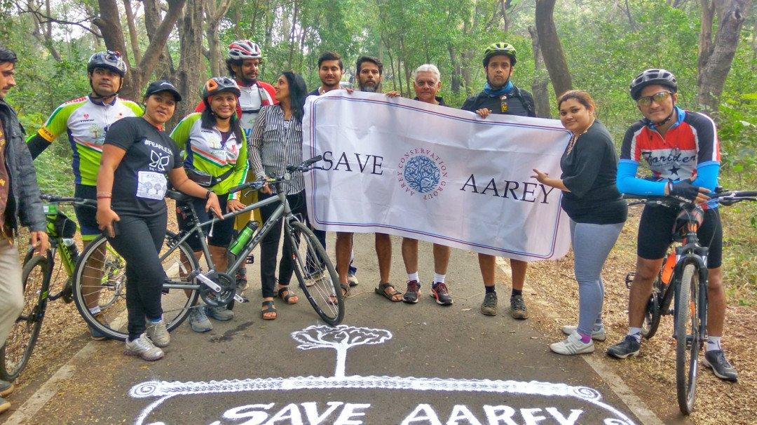 सेव आरे रन : आरे को बचाने के लिए दौड़े सैकड़ों लोग