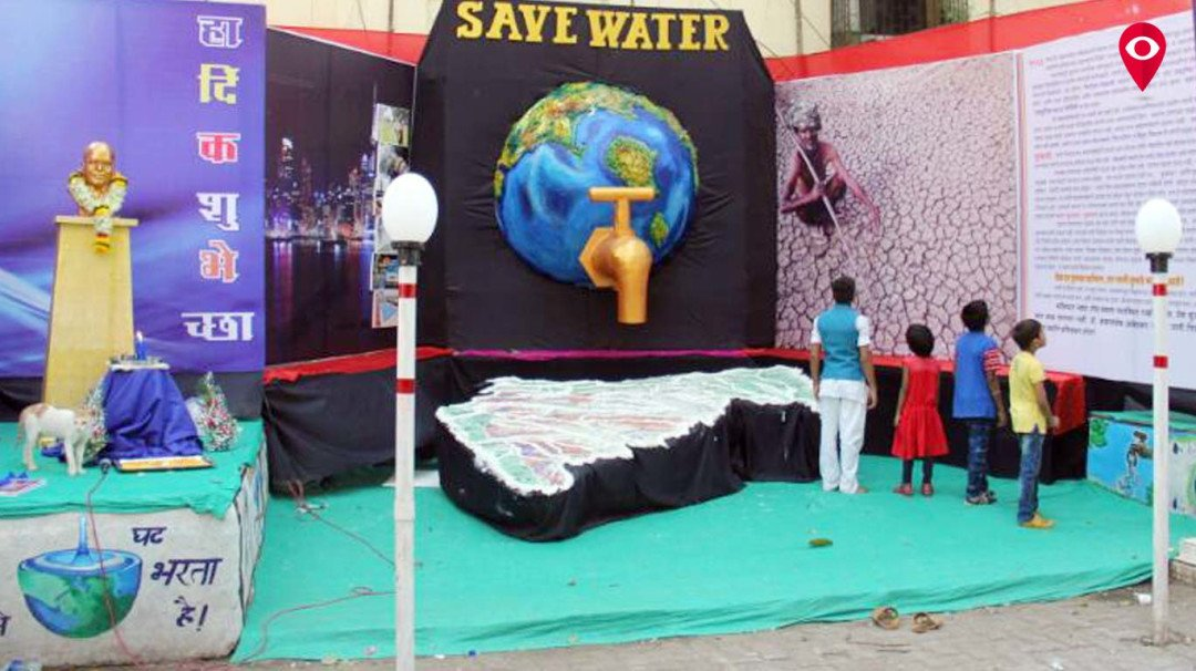 Dr Ambedkar Jayanti celebration with awareness on saving water