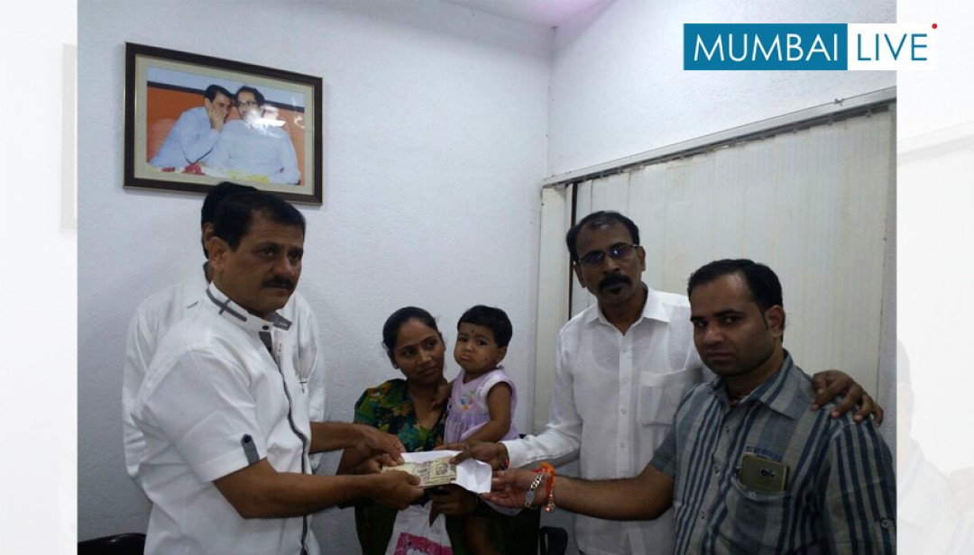 Prakash Surve's helping hand