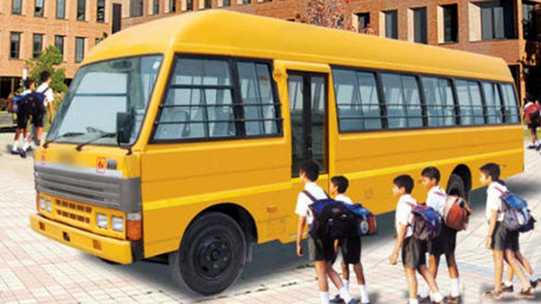 अवैध वैन के खिलाफ स्कूल बस एसोसिएशन करेगी हड़ताल
