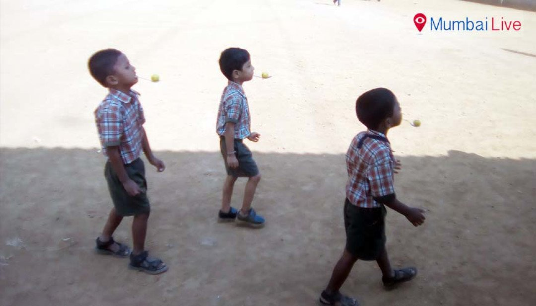 स्कूली खेल स्पर्धा का आगाज